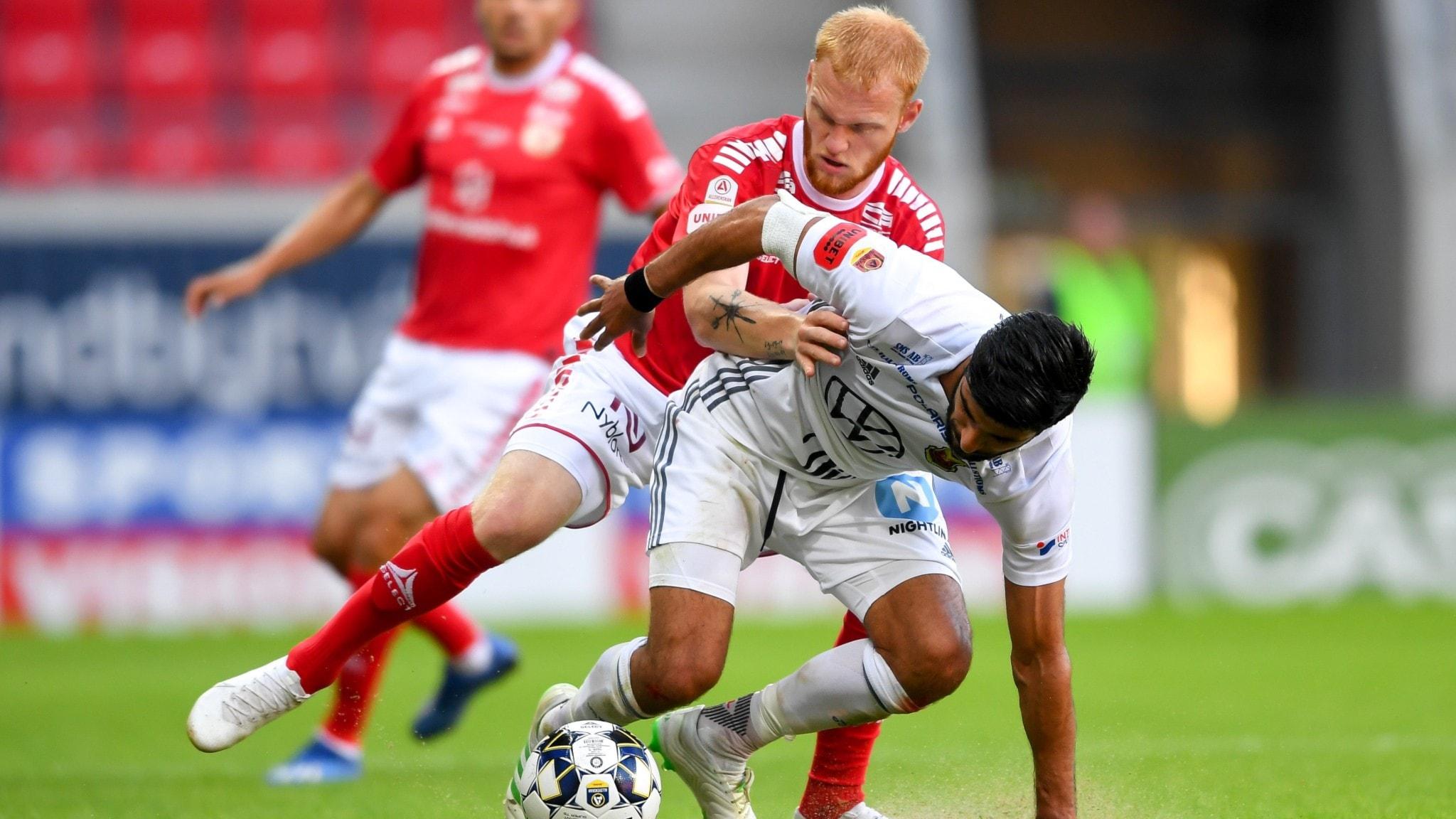 Knäskadad Fröling kan bli borta flera matcher
