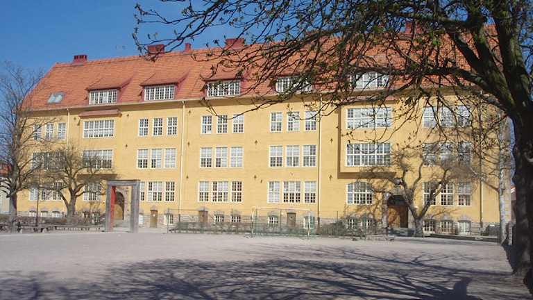 Vasaskolan i Kalmar. Arkivfoto: Linda Viskic/SR