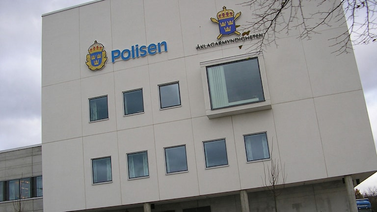 Polishuset Kalmar. Arkivfoto: Nick Näslund/Sveriges Radio
