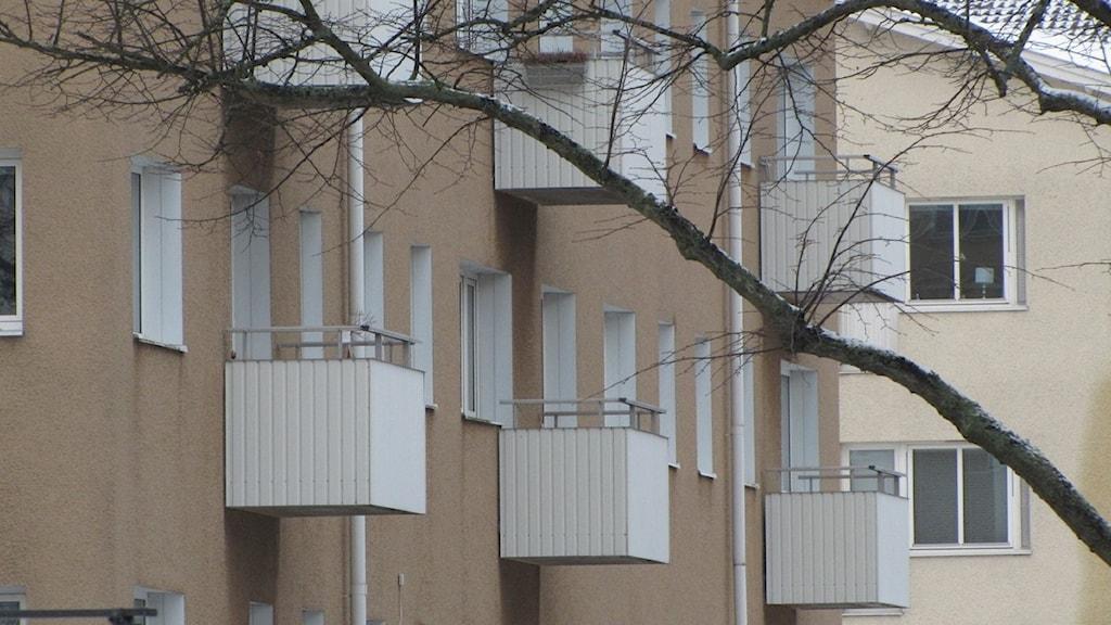 Lägenhetshus. Arkivfoto: Nick Näslund/Sveriges Radio.