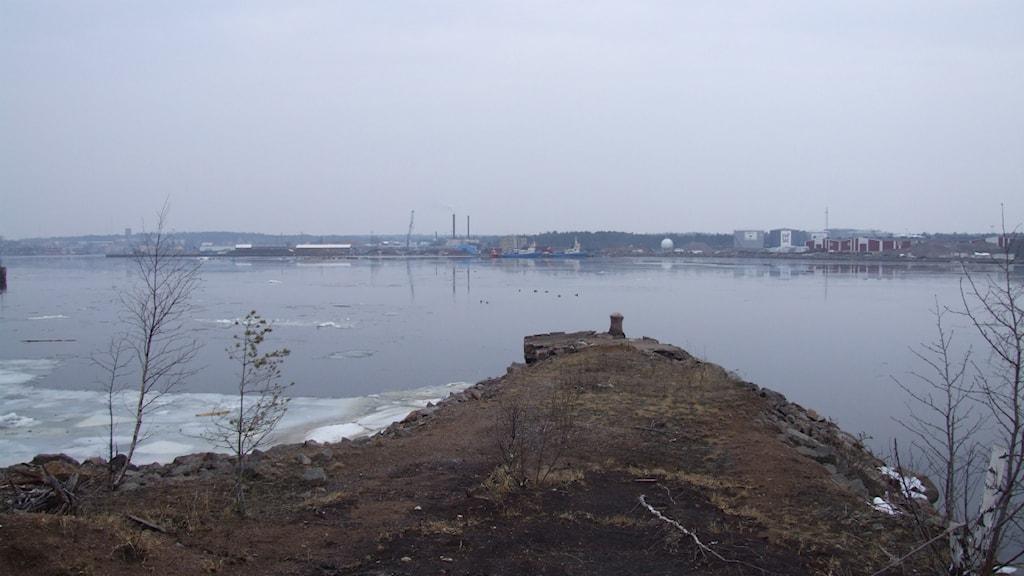 Oskarshamn hamn. Foto: Tobias Sandblad/Sveriges Radio