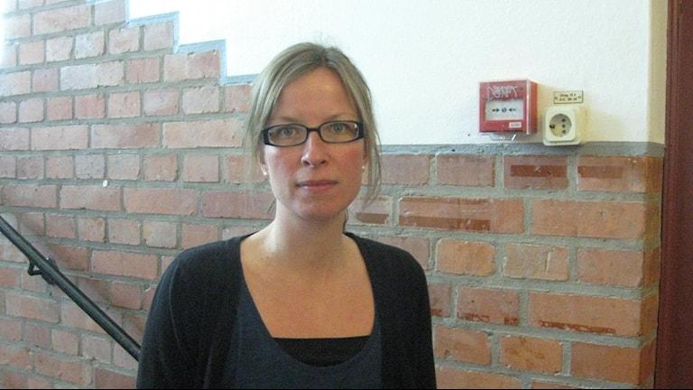 Karin Berggren. Foto: Viktor Blomberg/Sveriges Radio
