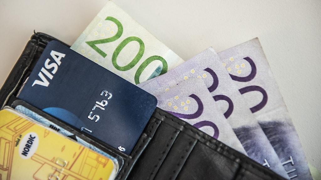 Plånbok.