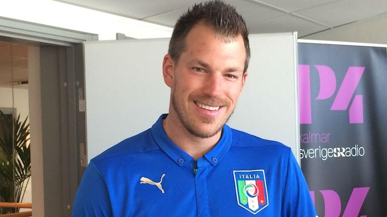 David Smith hejar på tre lag men mest för Italien