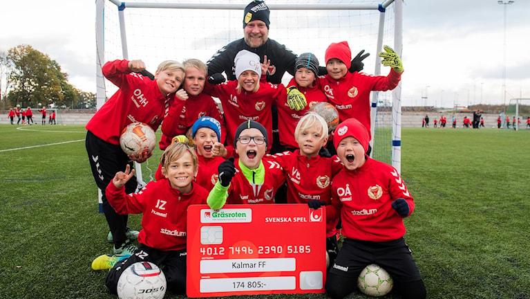 Kalmar FF får 174 805 kronor till sin förening.