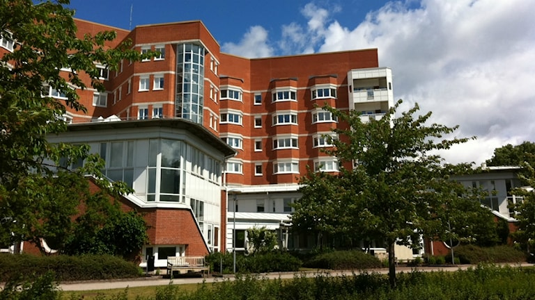 Länssjukhuset.