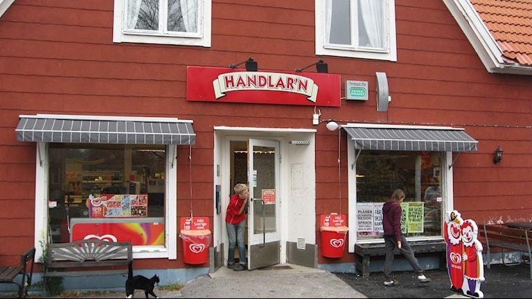 Butiken I Blankaholm. Foto: Lennart Ackling/Sveriges Radio.