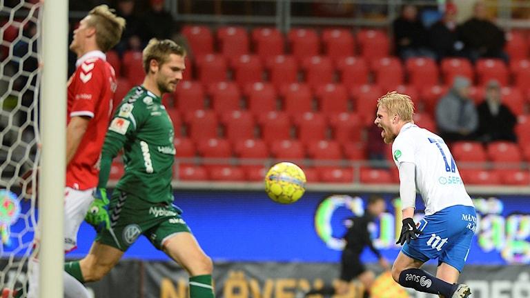 Kalle Holmberg avgjorde för Norrköping