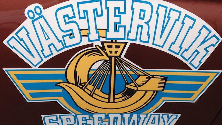 Västervik speedways klubbmärke