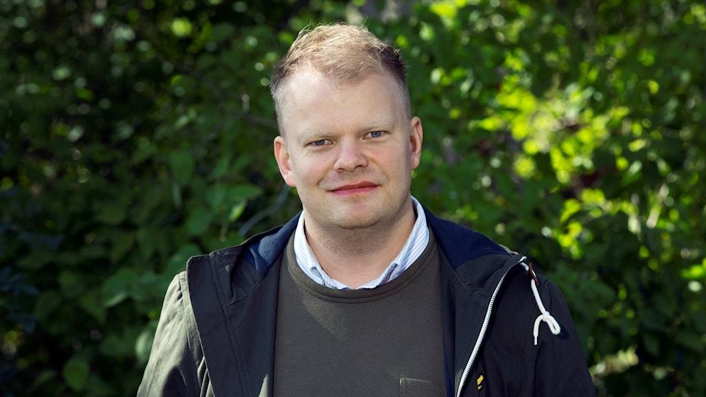 En bild på en deltagare från Bonde Söker Fru.