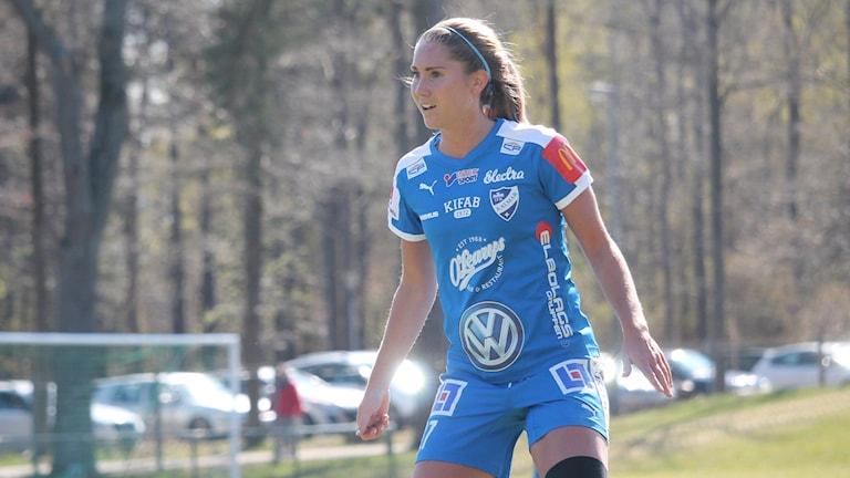 Amanda Fredriksson en fotbollsspelare