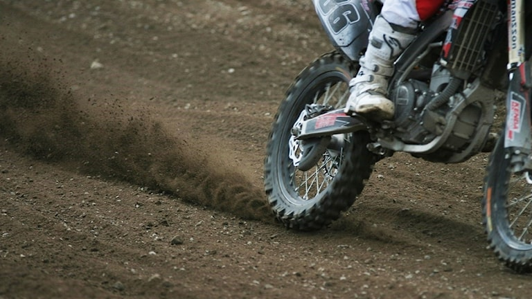 Motocrosscykel.