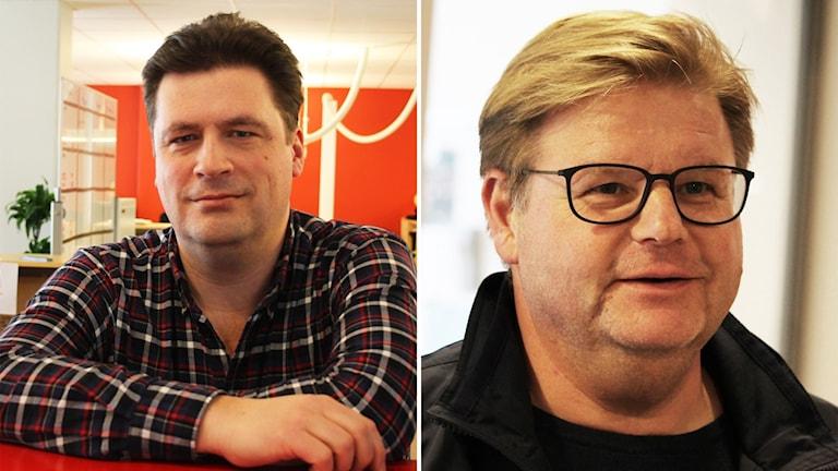 Magnus Krusell  och Peter Swärdh