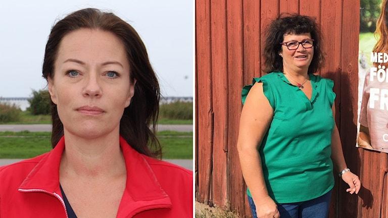 Matilda Wärenfalk och Anna-Kajsa Arnesson