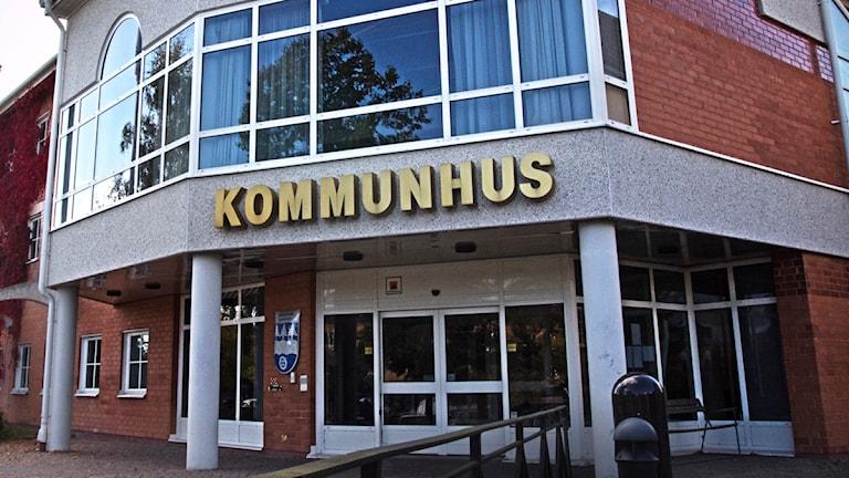 Hultsfreds kommunhus. Foto: Malte Lindahl/Sveriges Radio