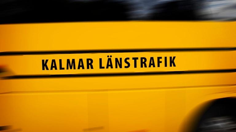 Kalmar länstrafiks buss.
