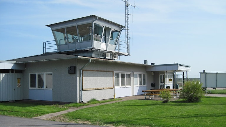 Oskarshamns flygplats. Foto: Nick Näslund/Sveriges Radio.