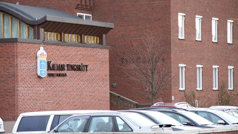 Tingsrätten i Kalmar. Arkivfoto: Leif Johansson/Sveriges Radio