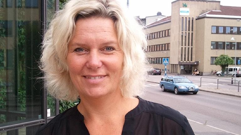 Malin Almqvist. Foto: Ann-Sofie Ottosson/Sveriges Radio.
