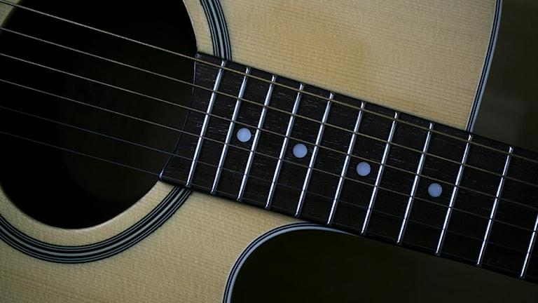 Akustisk gitarr. Foto: Fredrik Sandberg/Scanpix