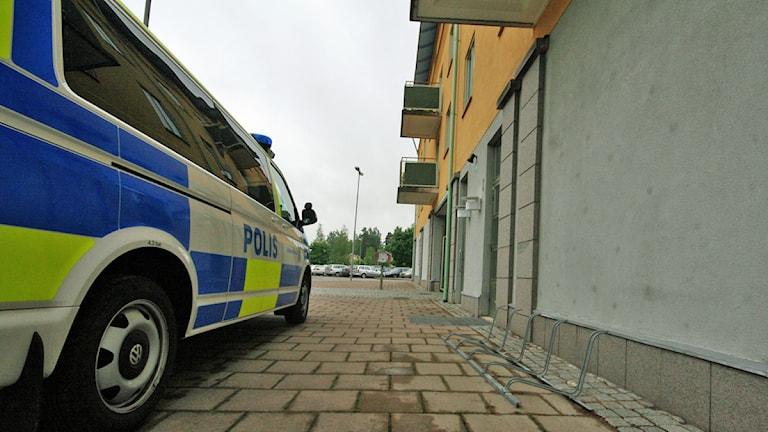 Polishuset i Hultsfred. Foto: Nick Näslund/Sveriges Radio.
