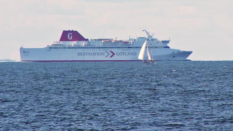 Gotlandsfärja.
