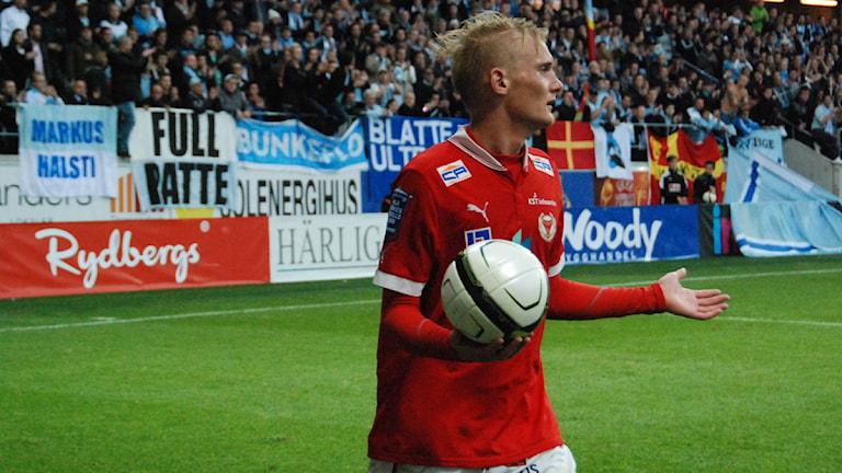 Ludvig Öhman. Foto: Viktor Blomberg/Sveriges Radio.