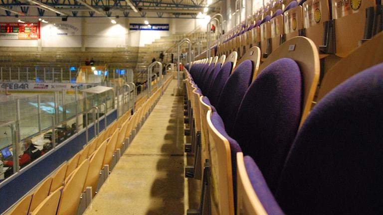 Arena Oskarshamn. Foto: Viktor Blomberg/Sveriges Radio.