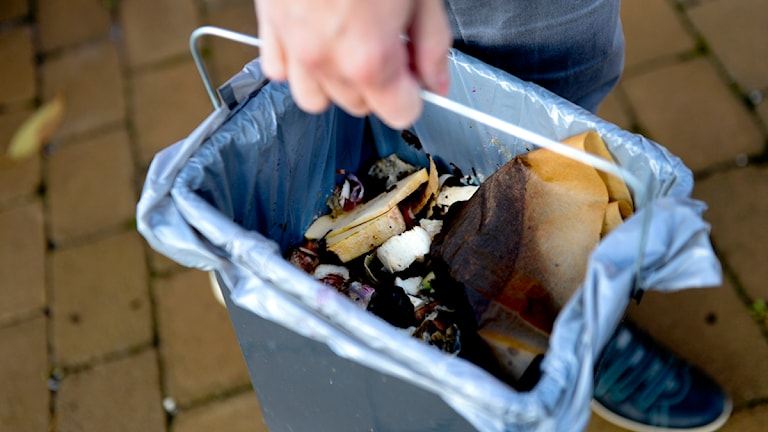 Komposthink. Foto: Pontus Lundhal/Scanpix