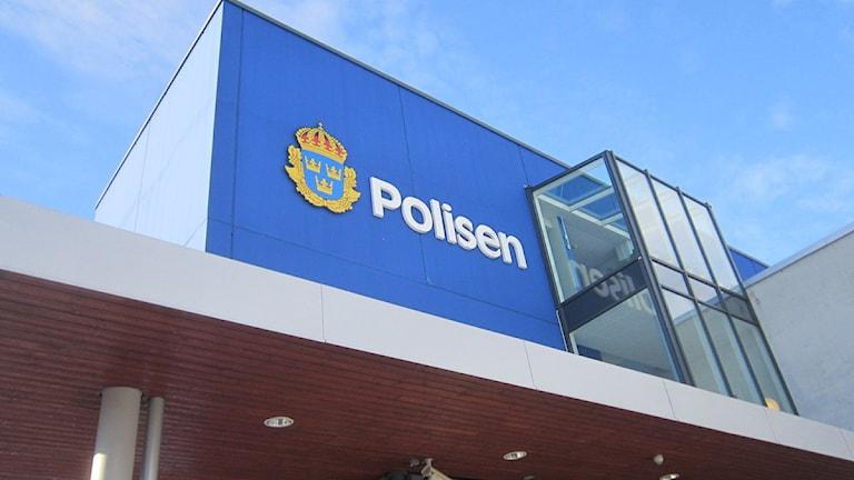 Polishuset i Västervik. Foto: Johanna Lindblad Ahl/Sveriges Radio.