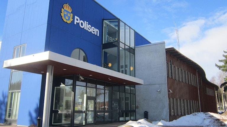 Polishuset i Västervik.