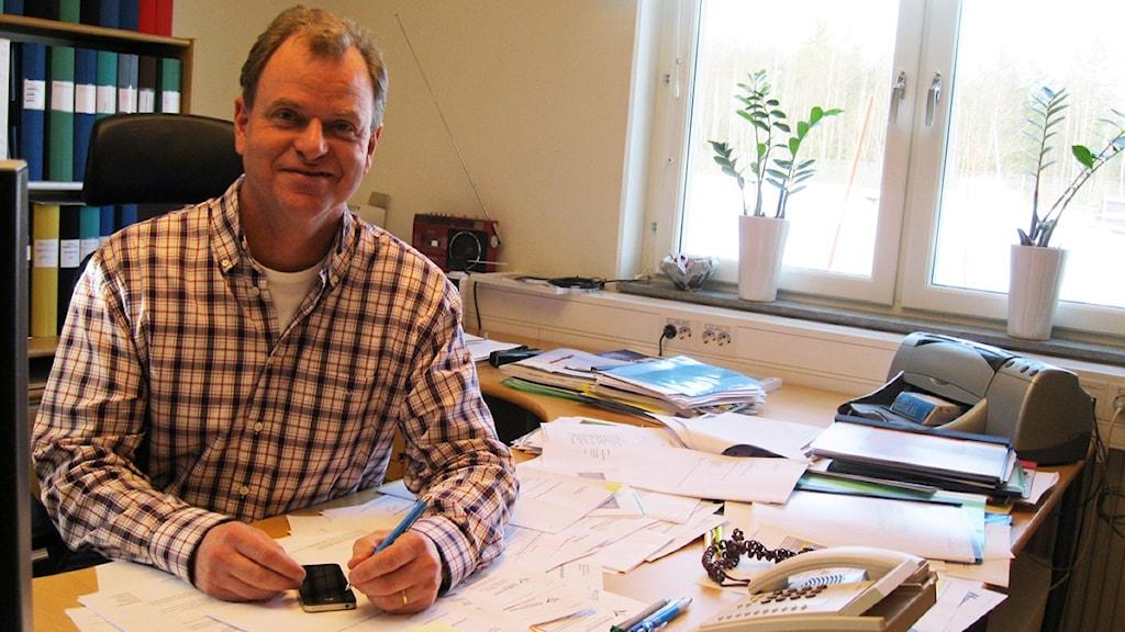 Håkan Dahlgren. Foto: Tobias Sandblad/Sveriges Radio.