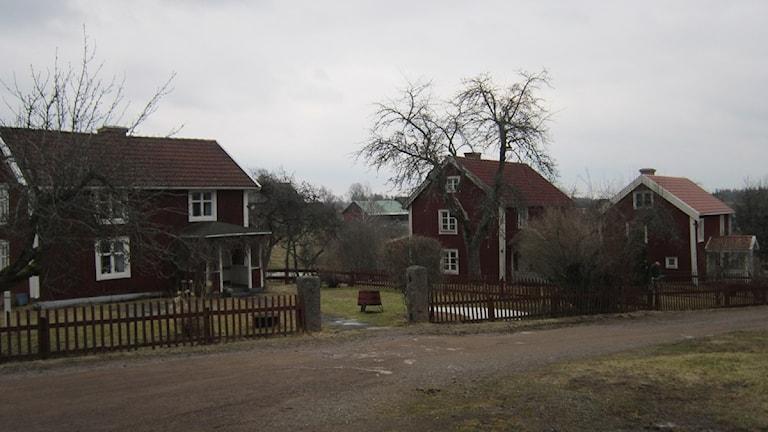 Bullerbyn som egentligen heter Sevedstorp. Foto: Patrik Wirengård