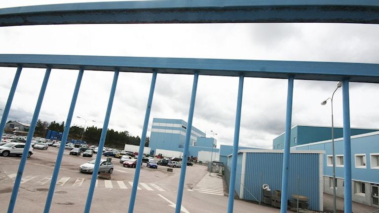 Scanias fabrik i Oskarshamn.