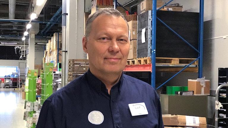 Leif Jonsson, butikschef på Coop Forum i Kalmar