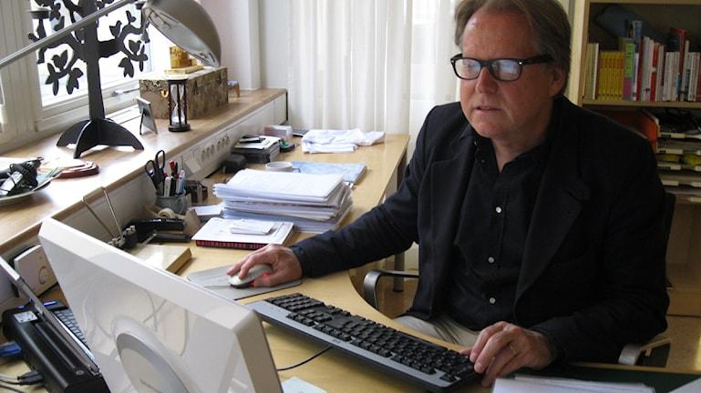 Håkan Brynielsson. Foto: Tobias Sandblad/Sveriges Radio.