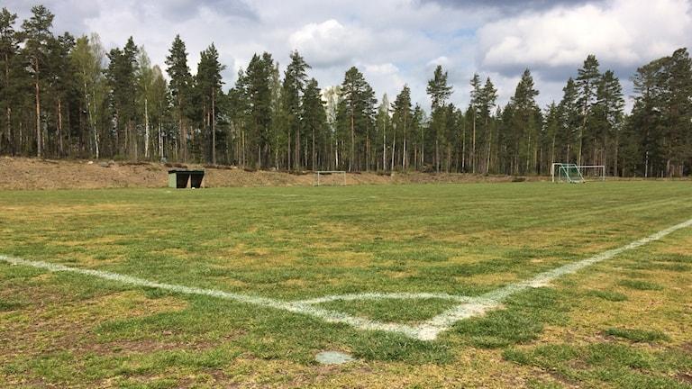 Hagadals fotbollsplan Hultsfred