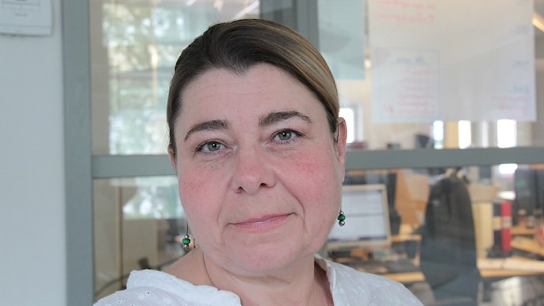 Catherine Legrand. Foto: Leif Johansson/Sveriges Radio