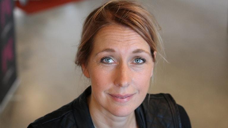 Jessica Bergsjö. Foto: Niklas Kaldner/Sveriges Radio