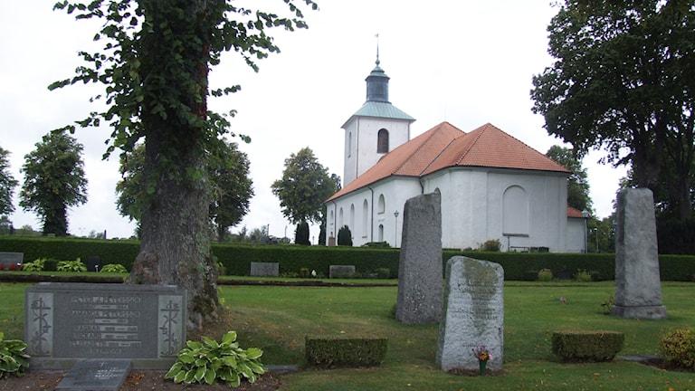 Söderåkra kyrka. Foto: Simon Leijnse/Sveriges Radio