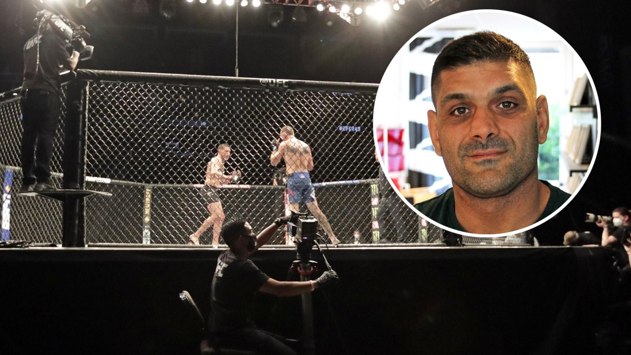 """Niko tränade med UFC-talang: """"Han kan ta en titel"""""""