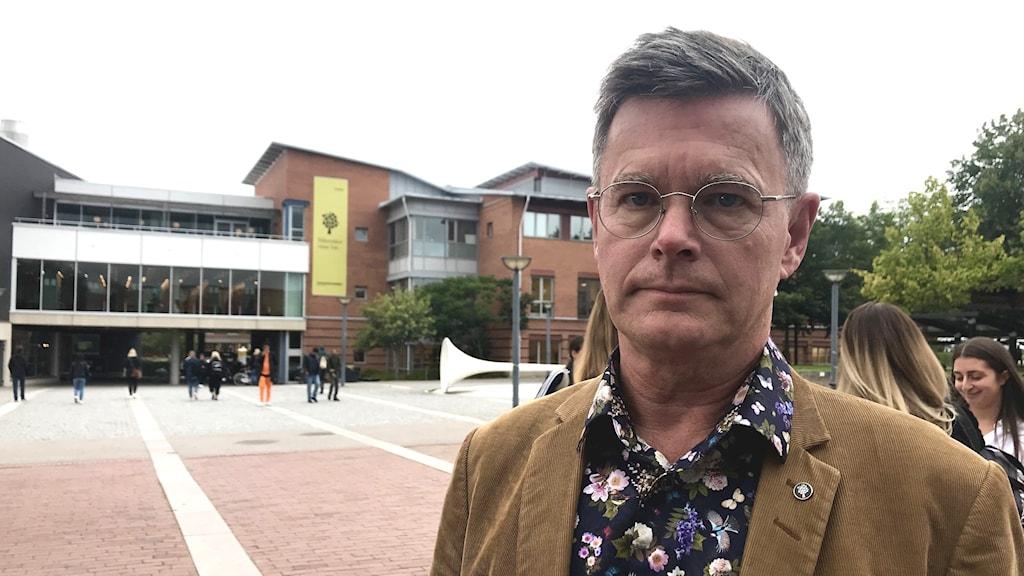 Peter Aronsson rektor Linnéuniversitetet