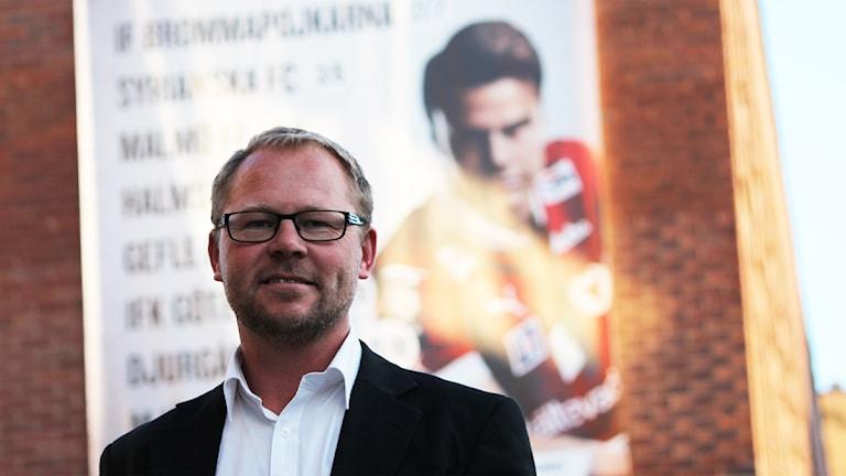 Thomas Andersson Borstam. Foto: Nick Näslund/Sveriges Radio