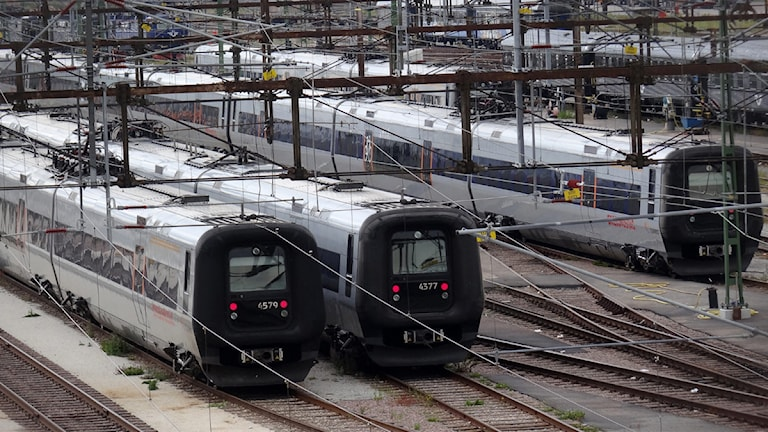 Tåg. Foto: Johan Nilsson/TT