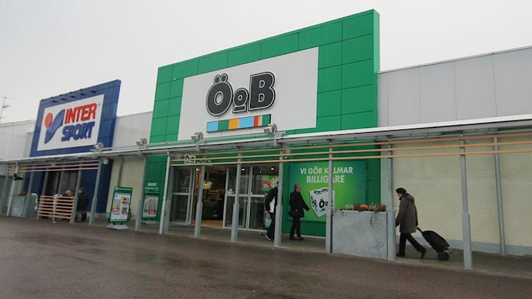 Ö o B-varuhus. Foto: Nick Näslund/Sveriges Radio