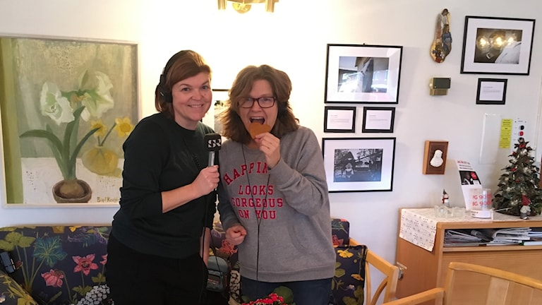 Johanna Lindblad Ahl och Maria Skagerlind