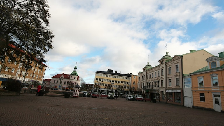 Torg. Foto: Nick Näslund/Sveriges Radio