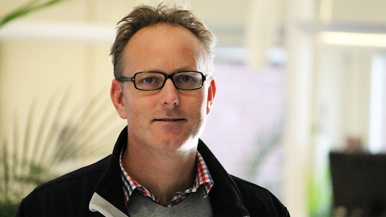 Johan Persson. Foto: Nick Näslund/Sveriges Radio