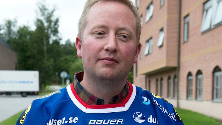 Fredrik Söderström. Foto: Bertil Enevåg Ericson/TT