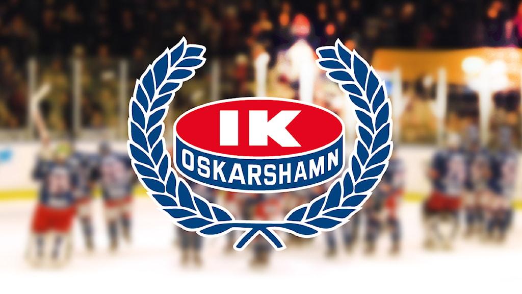 IK Oskarshamns klubbmärke.